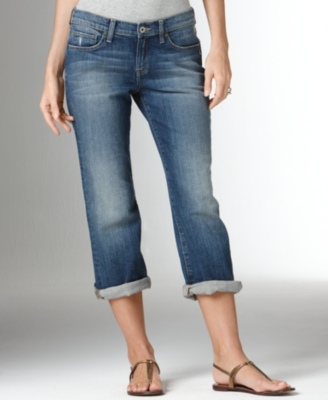 Lucky Brand Jeans Cropped Jeans, Summer Sweet n Low Ol Dolup Wash
