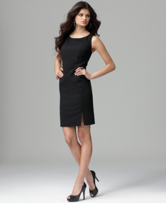 DKNYC Dress, Sleeveless Fitted Sheath