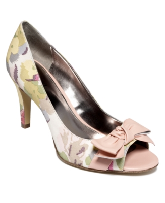 Alfani Shoes, Sonnet Pumps Women's Shoes - Peep Toe Pumps