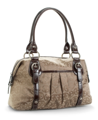 Giani Bernini Handbag, Front Buckle Satchel
