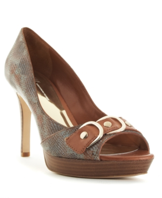 INC International Concepts Shoes, Madrid Peep Toe Pumps Women's Shoes