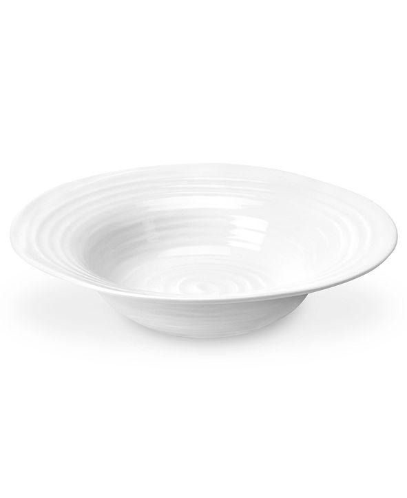 Portmeirion Dinnerware, Sophie Conran White Bistro Bowl