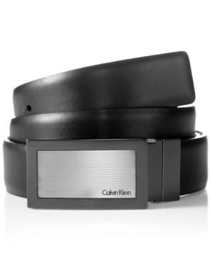 Calvin Klein Belt, Reversible Logo Plaque