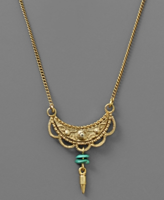 Rachel Rachel Roy Necklace, Goldtone