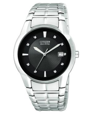 Citizen Men's Eco-Drive Stainless Steel Bracelet Watch 37mm BM6670-56E