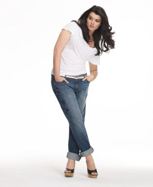 Calvin Klein Jeans Plus Size Jeans, Boyfriend Embroidered Dark Vintage Wash - Jeans