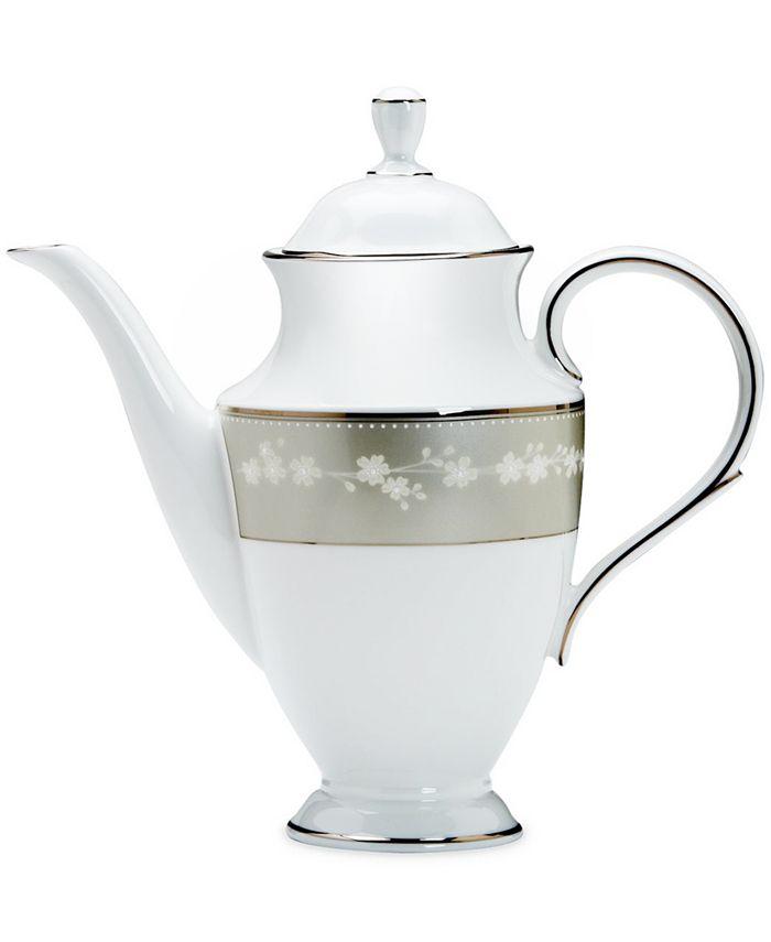 "Lenox - ""Bellina"" Coffeepot, 48 oz."