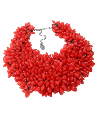 Disney Couture Necklace, Red Queen - Statement Necklace