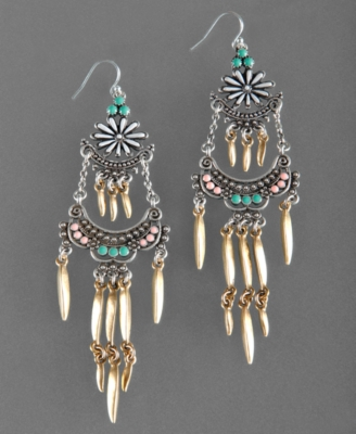 Lucky Brand Earrings, Embroidery