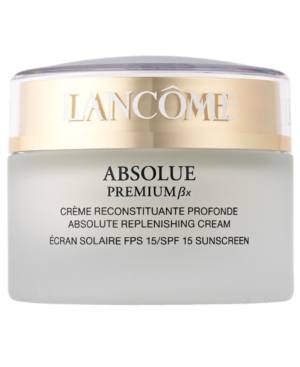 Lancôme ABSOLUE PREMIUM Bx Absolute Replenishing Cream SPF 15 Sunscreen, 1.7 Oz.
