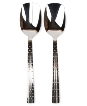 Lauren by Ralph Lauren Flatware, Set of 2 Watchband Salad Servers