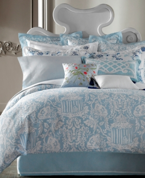 Court of Versailles Bedding, La Dauphine King Flat Sheet Bedding