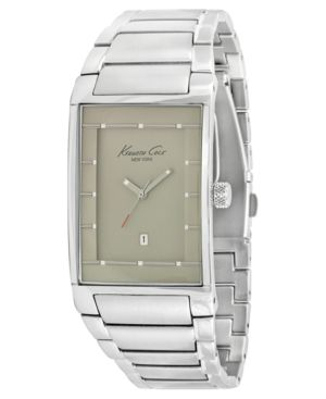 Kenneth Cole New York Watch, Men's Stainless Steel Bracelet KC3904