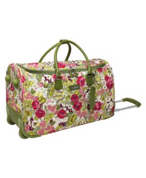 "Vera Bradley Suitcase, 21"" Make Me Blush Expandable Carry-On"
