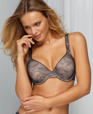 Vanity Fair Bra, Body Sleeks Support Lace Full Coverage Contour