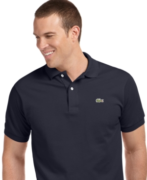 Lacoste Big and Tall Shirt, Classic Pique Polo Shirt