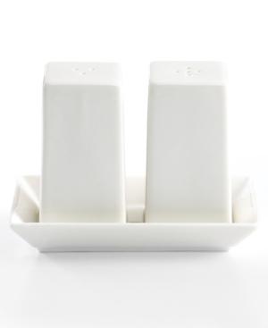Martha Stewart Collection Serveware, Whiteware Salt and Pepper Shakers