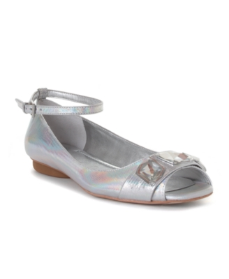 BCBGeneration Shoes, Hawaii Peep Toe Flats Women's Shoes