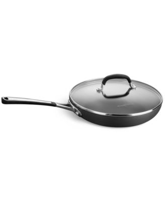 "Simply Calphalon Nonstick 10"" Covered Omelette Pan"