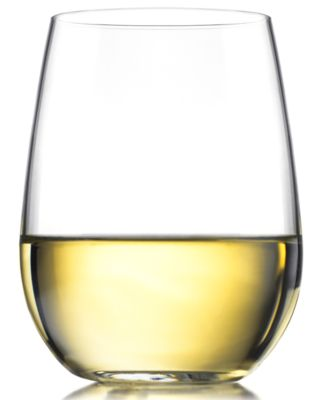 The Cellar Everyday Set of 4 Stemless White Wine Glasses