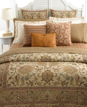 Lauren by Ralph Lauren Bedding, Northern Cape Terra Cotta Pair of King Pillowcases Bedding