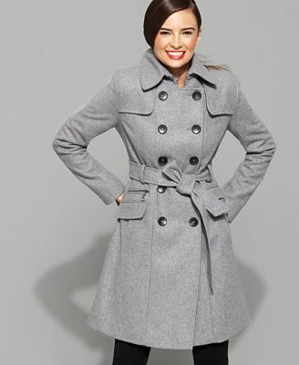 Images of Dkny Wool Coat - Reikian