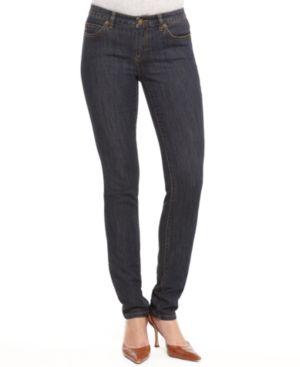 MICHAEL Michael Kors Petite Jeans, Skinny Premium Indigo Wash