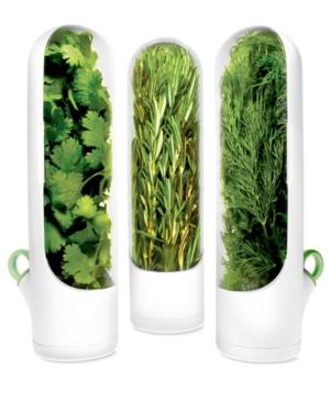Prepara Herb Containers, Set of 3 Mini Herb Savors