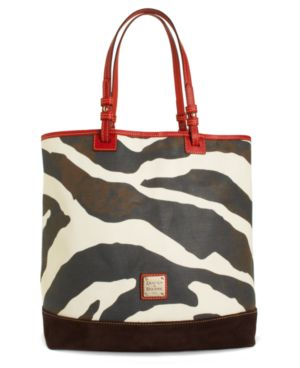 Dooney & Bourke Handbag, Zebra Lee Tote