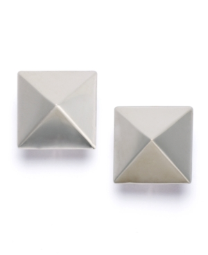 Kenneth Jay Lane Earrings, Pointy Square