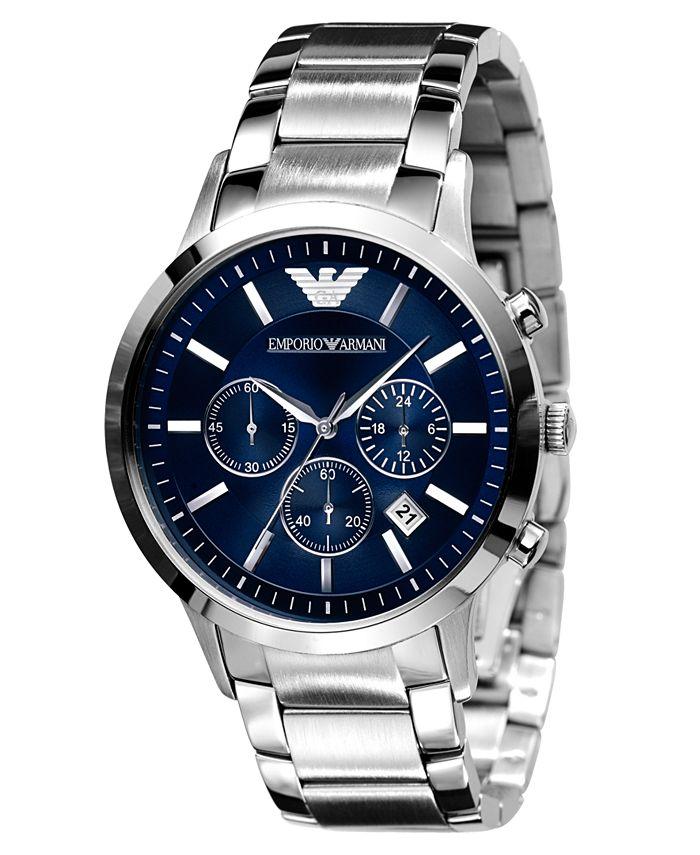 Emporio Armani - Watch, Men's Stainless Steel Bracelet 43mm AR2448