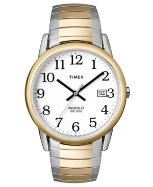 Timex Watch, Men's Two Tone Stainless Steel Bracelet T2H311UM