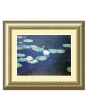 Amanti Art Wall Art, Nympheas 1897 Framed Art Print by Claude Monet