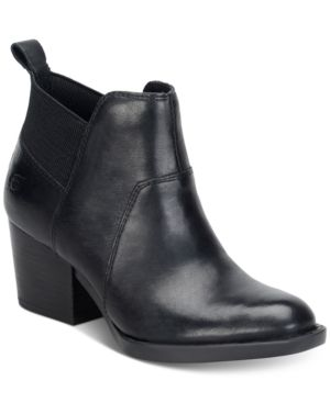 Born Garcia Ankle Booties Women's Shoes