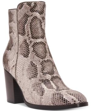 Donald J Pliner Sonoma Block-Heel Booties Women's Shoes