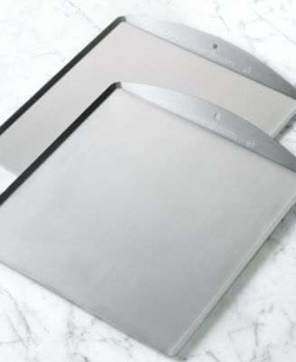 "Nordic Ware Set of 2 13"" x 14"" Cookie Sheets"