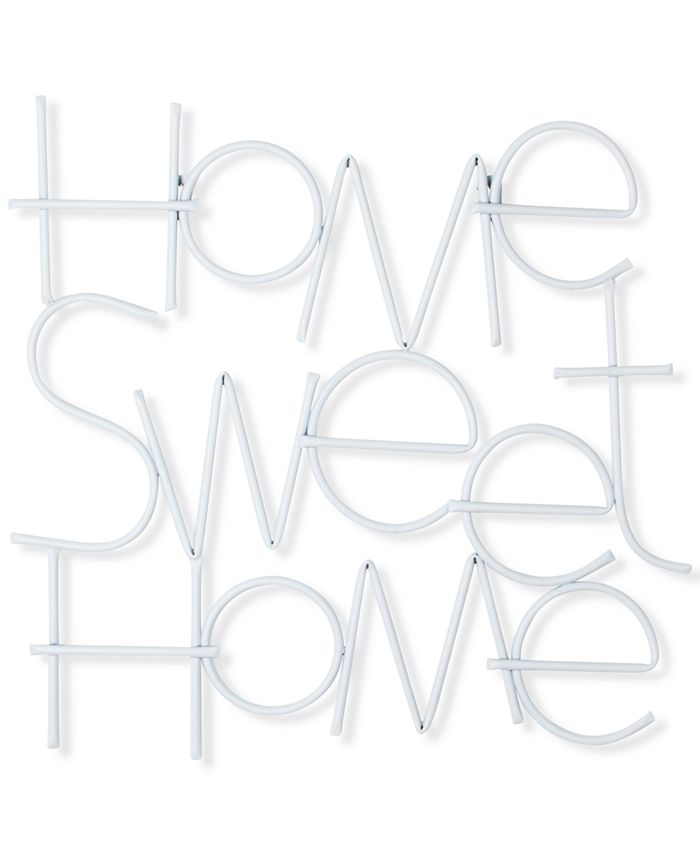 Graham & Brown - Home Sweet Home Metal Wall Art