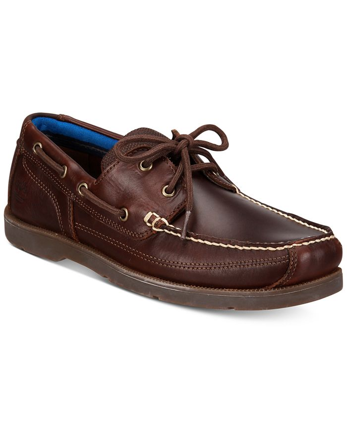 Timberland - Men's Piper Cove Leather Boat Shoes