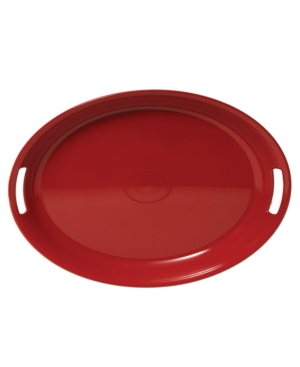 Fiesta Dinnerware, Melamine Oval Handled Tray