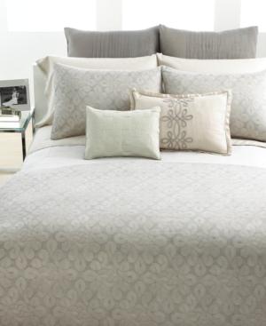 Vera Wang Bedding, Love Knots Queen Duvet Cover Bedding