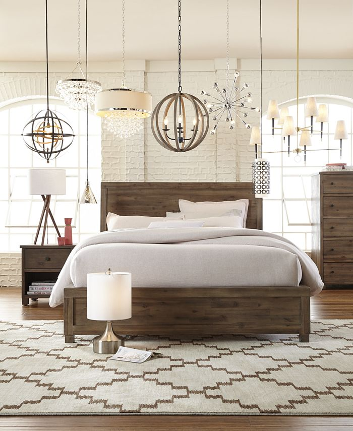 Furniture - Canyon Bedroom , 3 Piece Bedroom Set (Queen Bed, Chest and Nightstand)