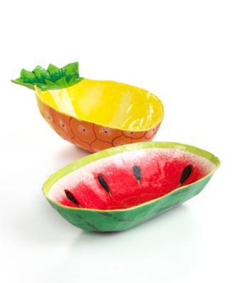 Heart of Haiti Bowls, Fruit Collection