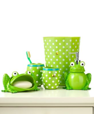 Jay Franco Bath Accessories, Froggy Collection - - Macy's