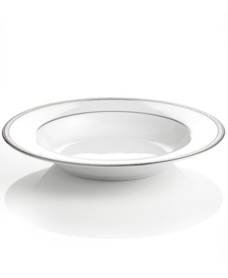 "Charter Club ""Grand Buffet Platinum"" Rim Soup Bowl"