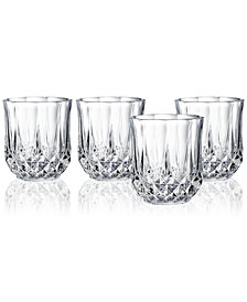 Cristal D'Arques Longchamp Set of 4 Double Old Fashioned Glasses