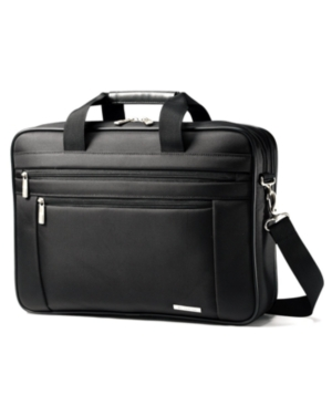 """Samsonite Two Gusset Briefcase, 15.6"""" Classic Laptop Friendly Business Case"""