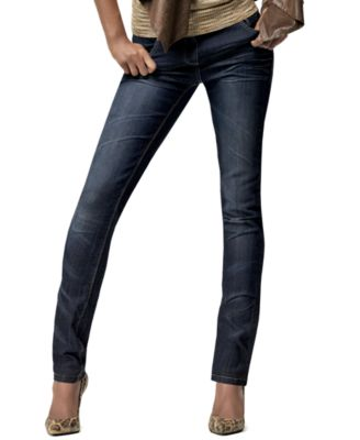 INC International Concepts Jeans, Curvy Fit Skinny Leg Signature