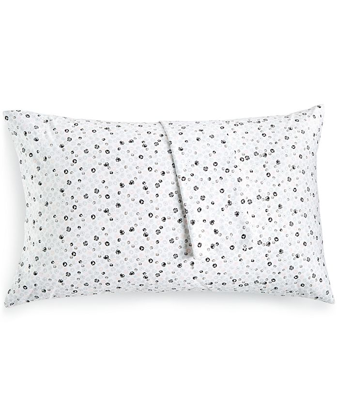 BCBGeneration - Cotton Percale 200 Thread Count Ditsy Floral Pair of King Pillowcases