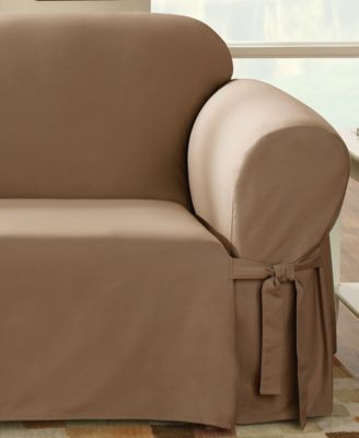 Sure Fit Slipcovers Duck Furniture Covers Bedding