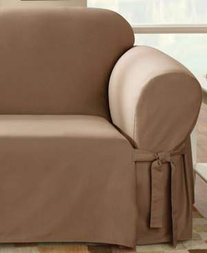 Sure Fit Slipcovers, Duck Loveseat Cover Bedding